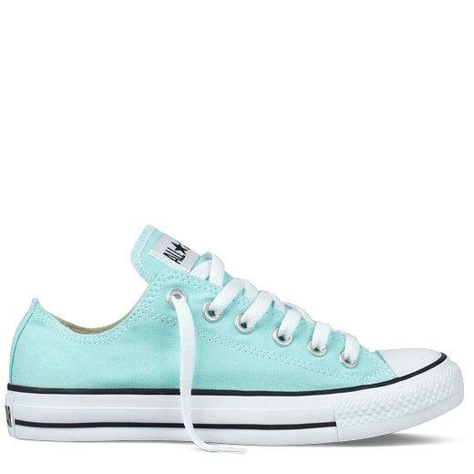 cc2a1f34e467c Tiffany Blue Converse. Gimme.