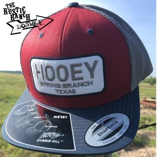 sports shoes 327fa 3568c Burgundy hat with Navy Hybrid bill Grey Mesh Trucker Hooey Hands Up Logo  under the bill Gray stitched