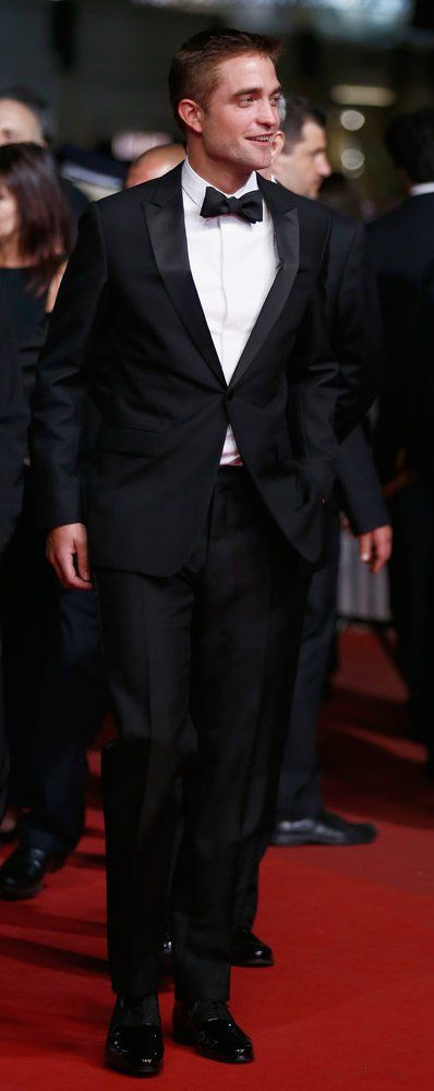 "Robert Pattinson in Dior Homme attends ""The Rover"" premiere during the 67th Annual Cannes Film Festival. #bestdressed"