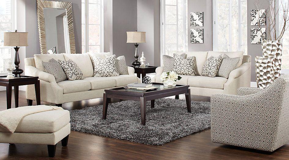 Regent Place Beige 5 Pc Living Room | Living room decor ...