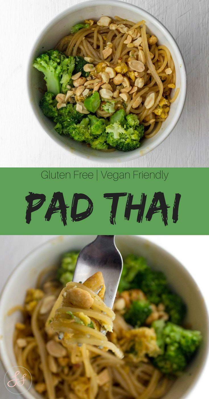Pad Thai Gluten Free Vegan Friendly