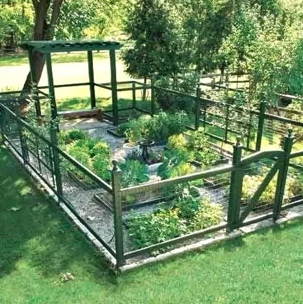 13+ Easy and Aesthetically Appealing Garden Fence Ideas