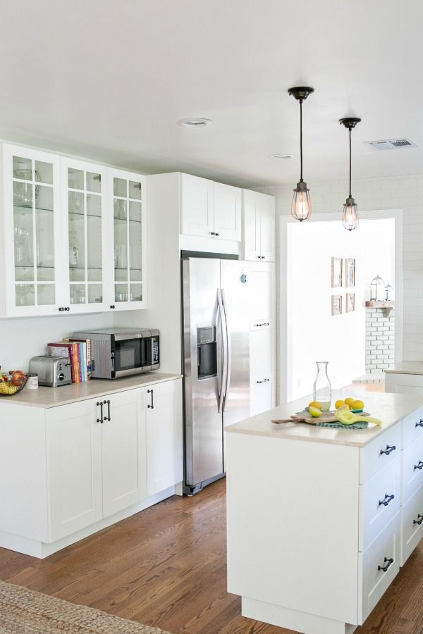 An Ikea Kitchen In Los Angeles Spaces Kitchens Pinterest Kitchen Ikea Kitchen And Kitchen