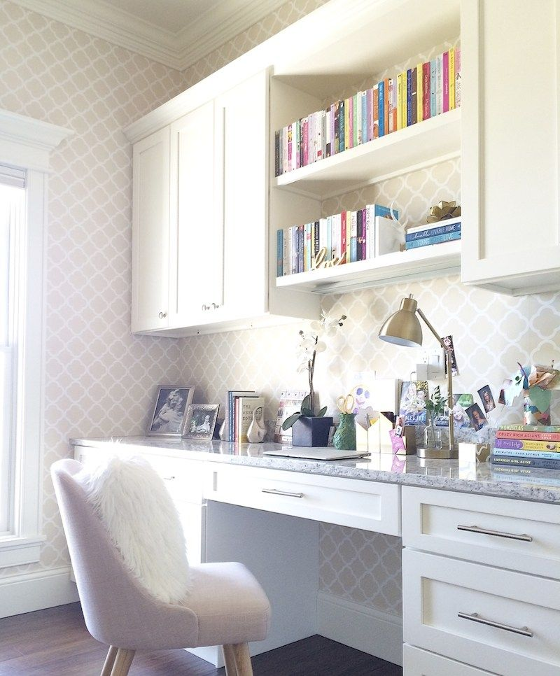 30 Charming Home Office Cabinet Design Ideas For Easy Storage In 2020 Office Cabinets Cabinet Design Office Cabinet Design