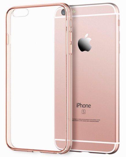 1fc169db1cd Funda bumper para el iPhone 6s en color rosa   Phone   Fundas para ...