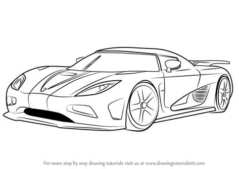 Cars Drawing Step By Step 25 Ideas For 2019 Koenigsegg Cool Car Drawings Car Drawings