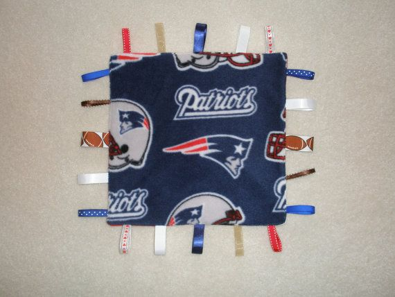 reputable site be1f6 9e01a New England Patriots Baby Blanket by GrandmaTsCrafts on Etsy ...