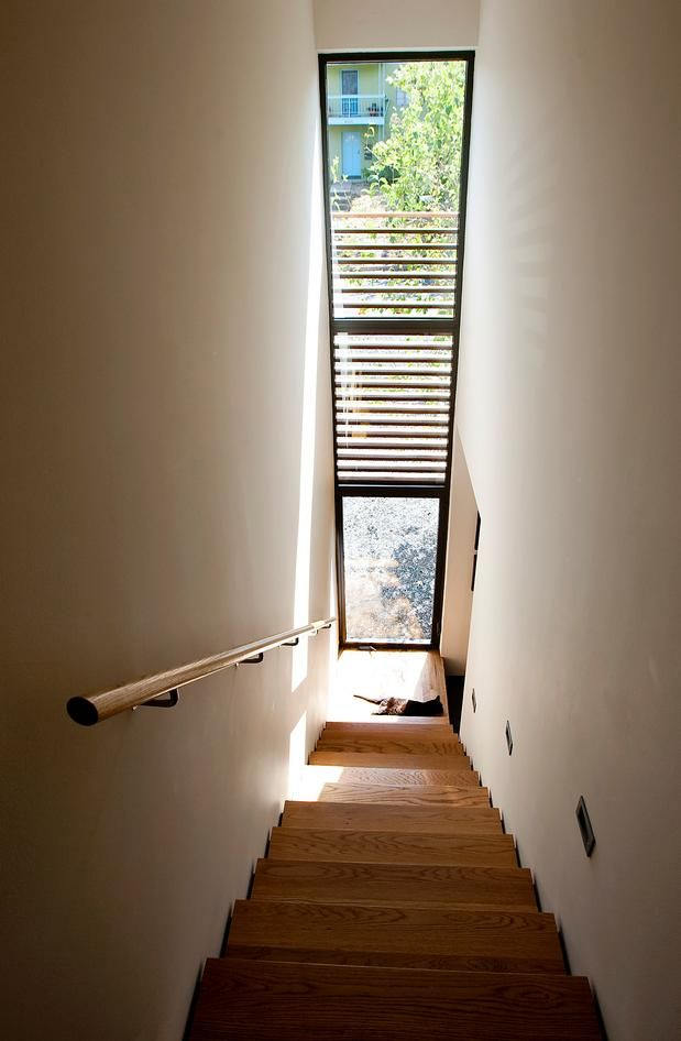 Pin By Rachel Wray Thompson On Architect Interior Exterior Stair | Window Design For Stairs | Exterior | Kitchen Color Combination | Home Wooden Staircase | Residential | Two Story Staircase