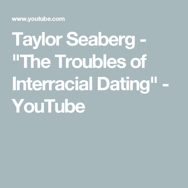 Inter racial dating poem
