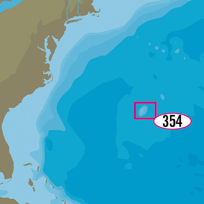 C-MAP MAX-N+ NA-Y354 - Bermuda Islands [NA-Y354] | Bermuda island ...