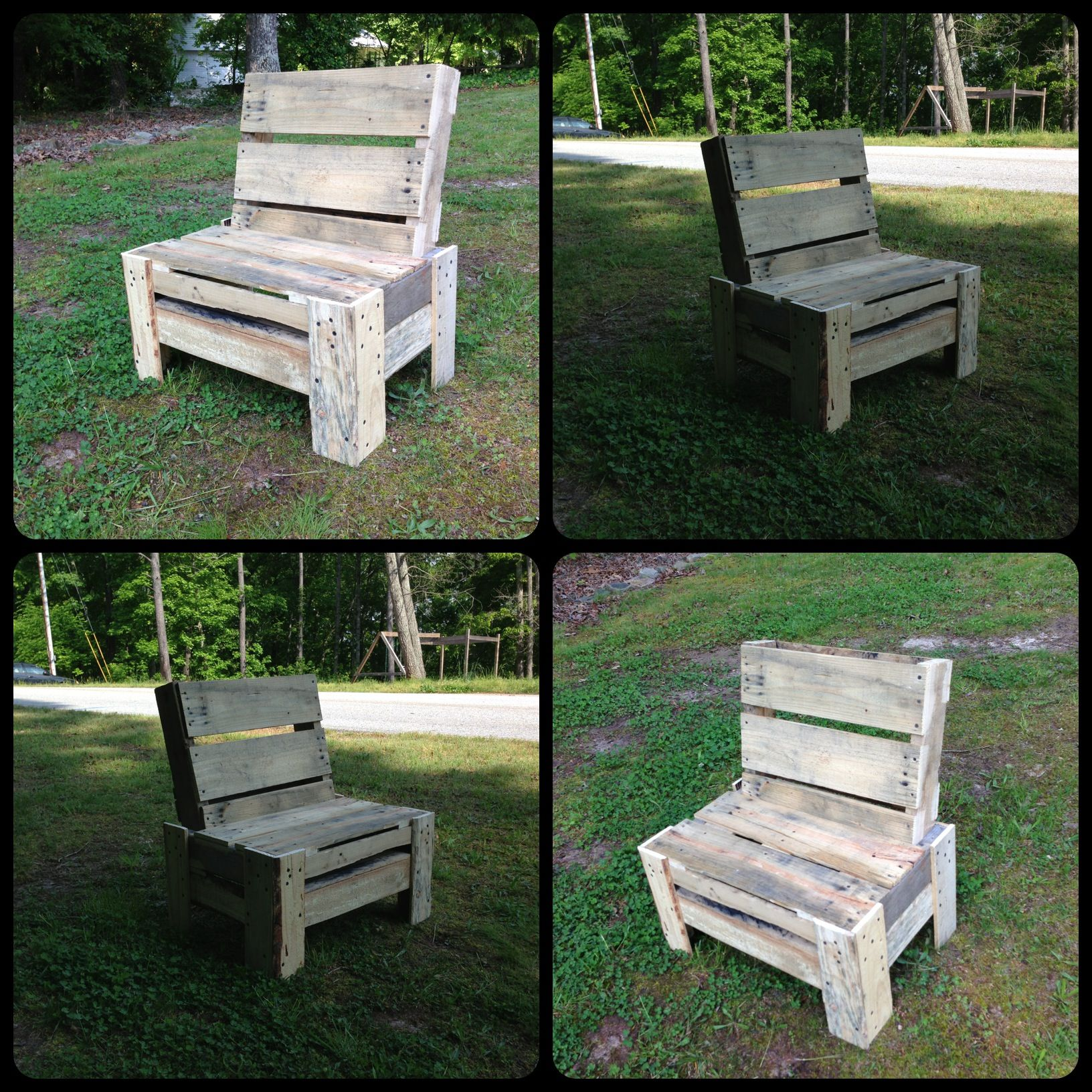 Small Bench Repurposed Pallet