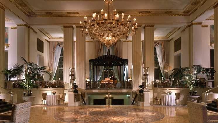 The Waldorf Astoria Hotel Ny Park Avenue Lobby Lord Willing I