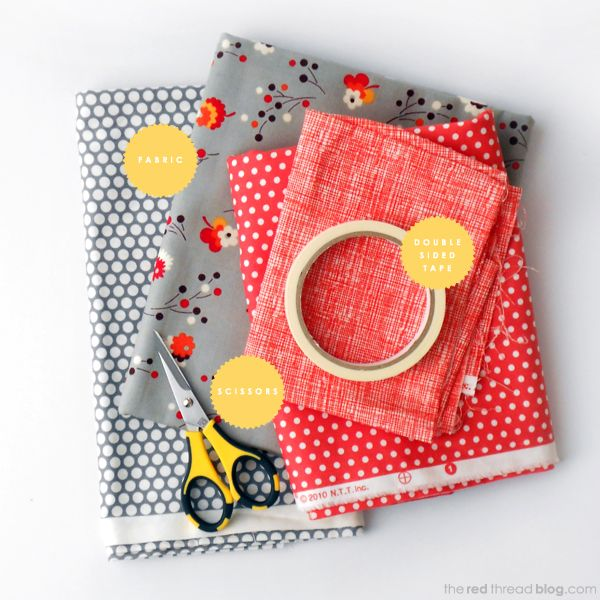 HOW TO MAKE YOUR OWN FABRIC TAPE | The Red Thread #fabrictape