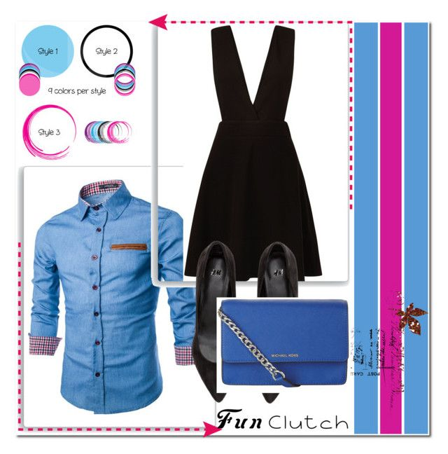 """fun clutch"" by neri-6448 ❤ liked on Polyvore featuring New Look and MICHAEL Michael Kors"