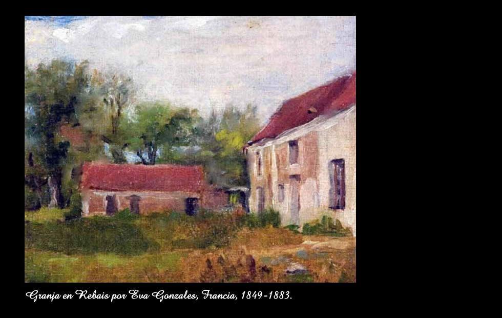 Granja en Rebais  Eva Gonzales (1849-1883)