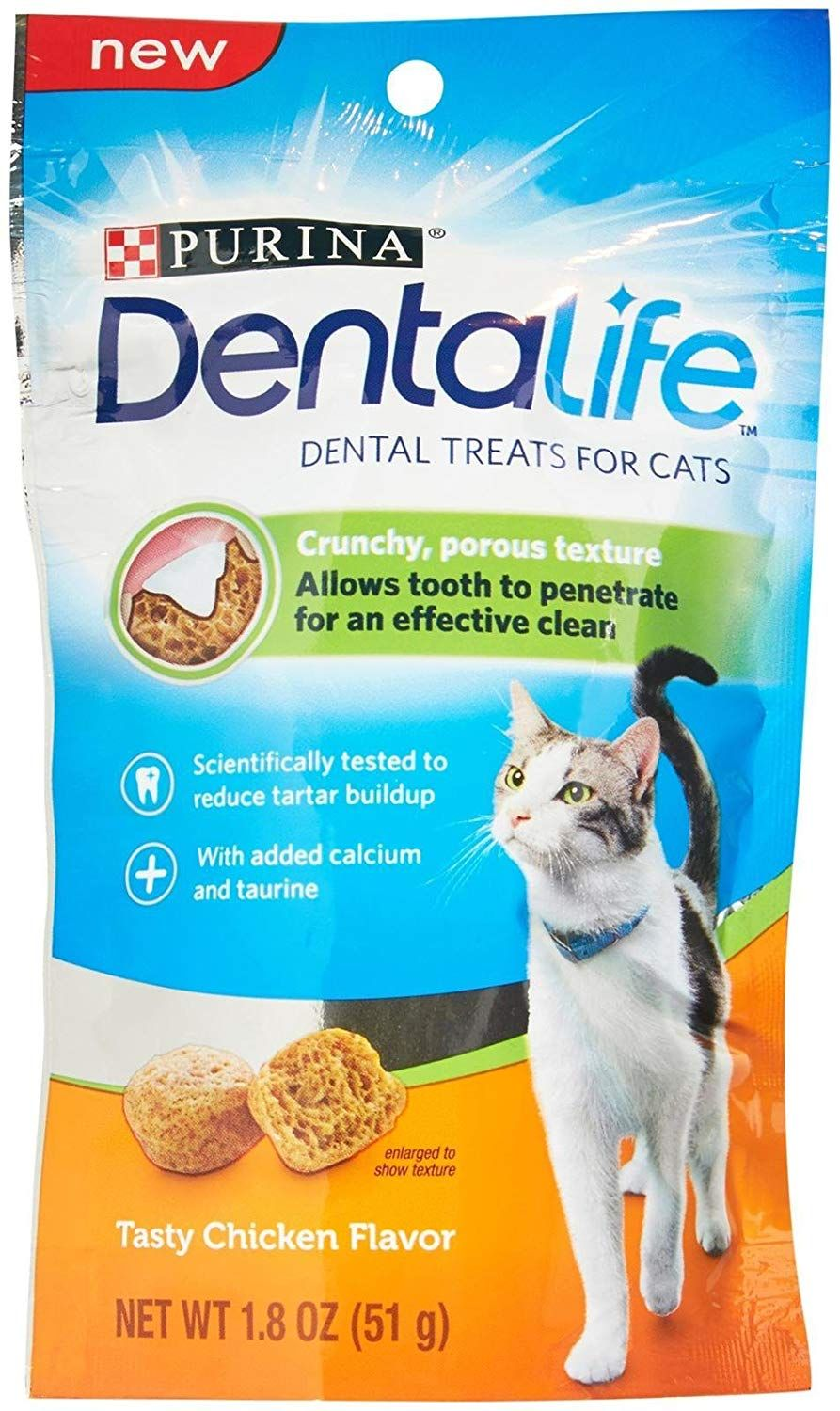Purina Dentalife Dental Treats For Cats Tasty Chicken Many Thanks For Viewing Our Picture This Is Our Affiliate Link Cat Dental Treats Purina Cat Snacks