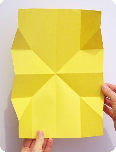 Tutorial Map Fold Pop Up Fold Insert For Cards Sarahnielsen