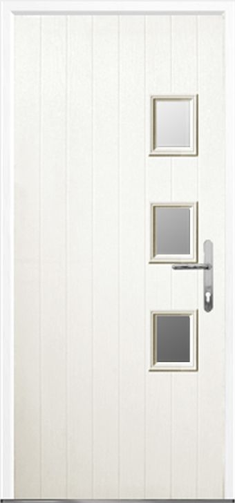 3 Square Composite front doors fitting and installation by Just Value Doors your local front door specialist  sc 1 st  Pinterest & 3 Square - GRP Composite Door | Composite front doors. Affordable ...