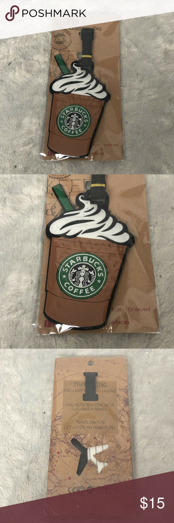 New Starbucks Frappuccino Luggage Tag New New Starbucks Frappuccino Luggage Tag SH1:101803 Starbucks Other #starbucksfrappuccino New Starbucks Frappuccino Luggage Tag New New Starbucks Frappuccino Luggage Tag SH1:101803 Starbucks Other #starbucksfrappuccino