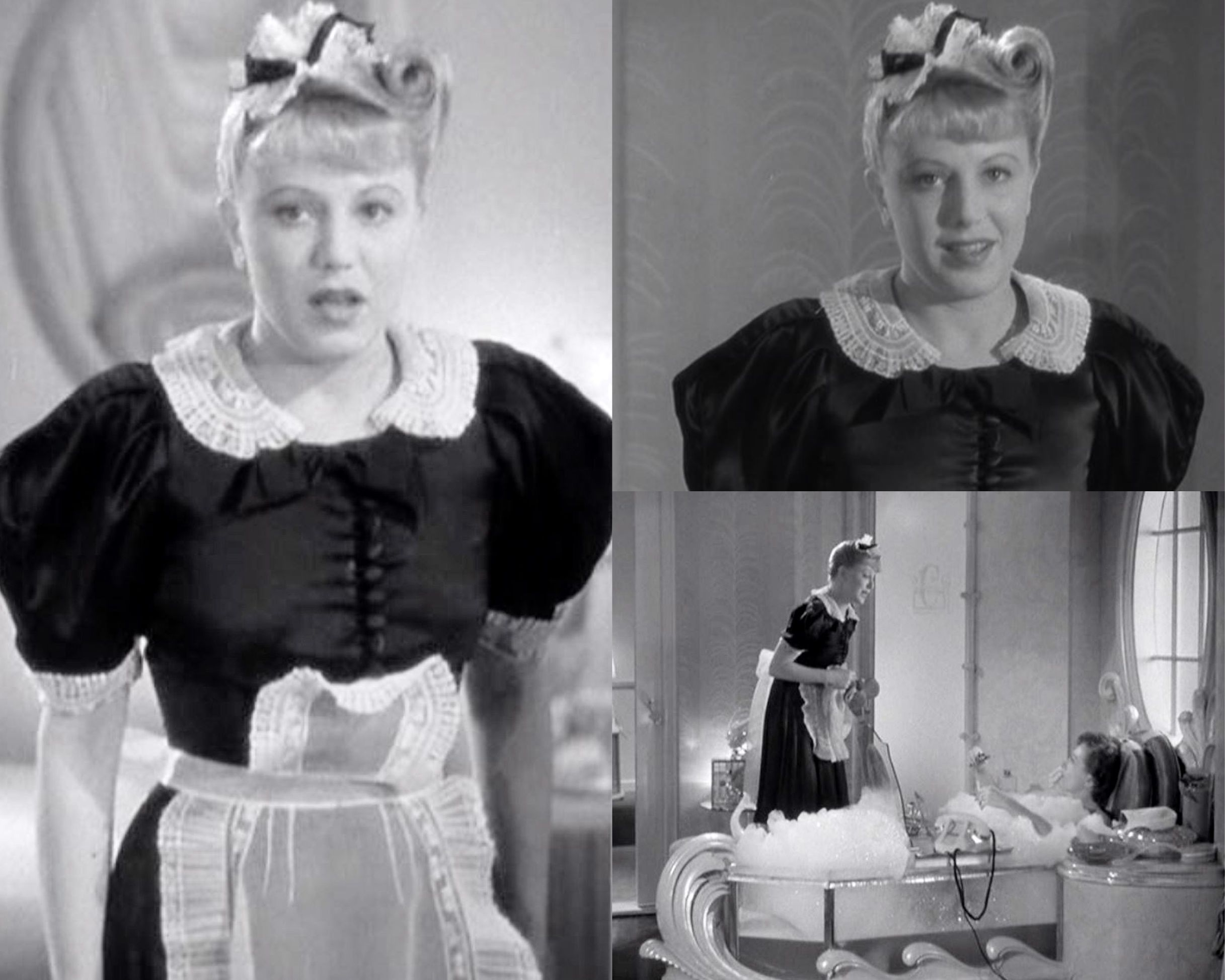 the woman 1939 (early 40s fashions) french maid - love her