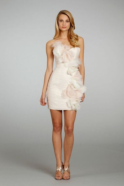 10 Fun Flirty Reception Dresses