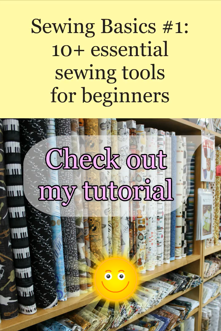 Photo of Guide on buying sewing supplies / Sewing Basics #1: 10+ essential sewing tools for beginners