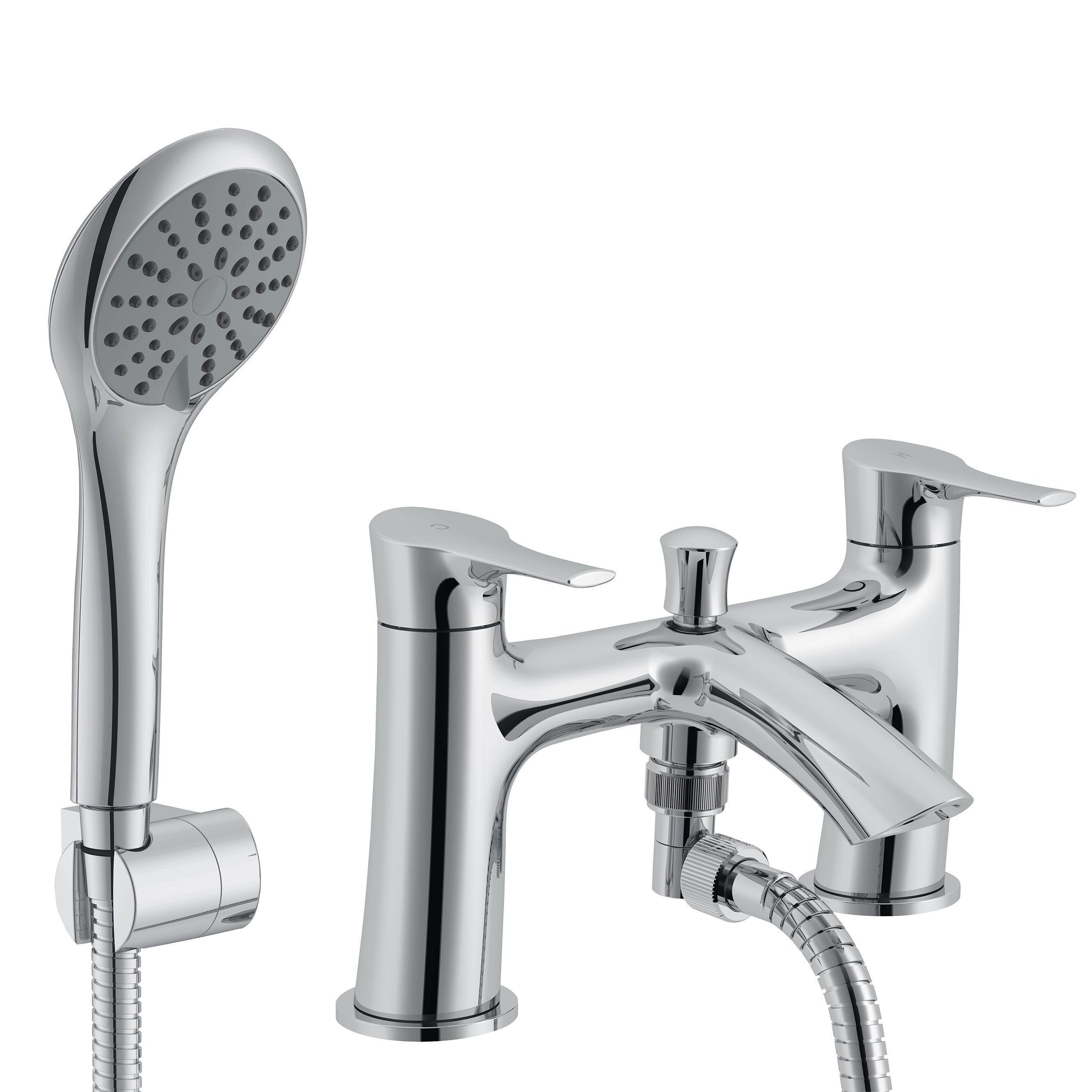 Cooke & Lewis Oceanspray Chrome Bath Shower Mixer Tap | Bath shower ...