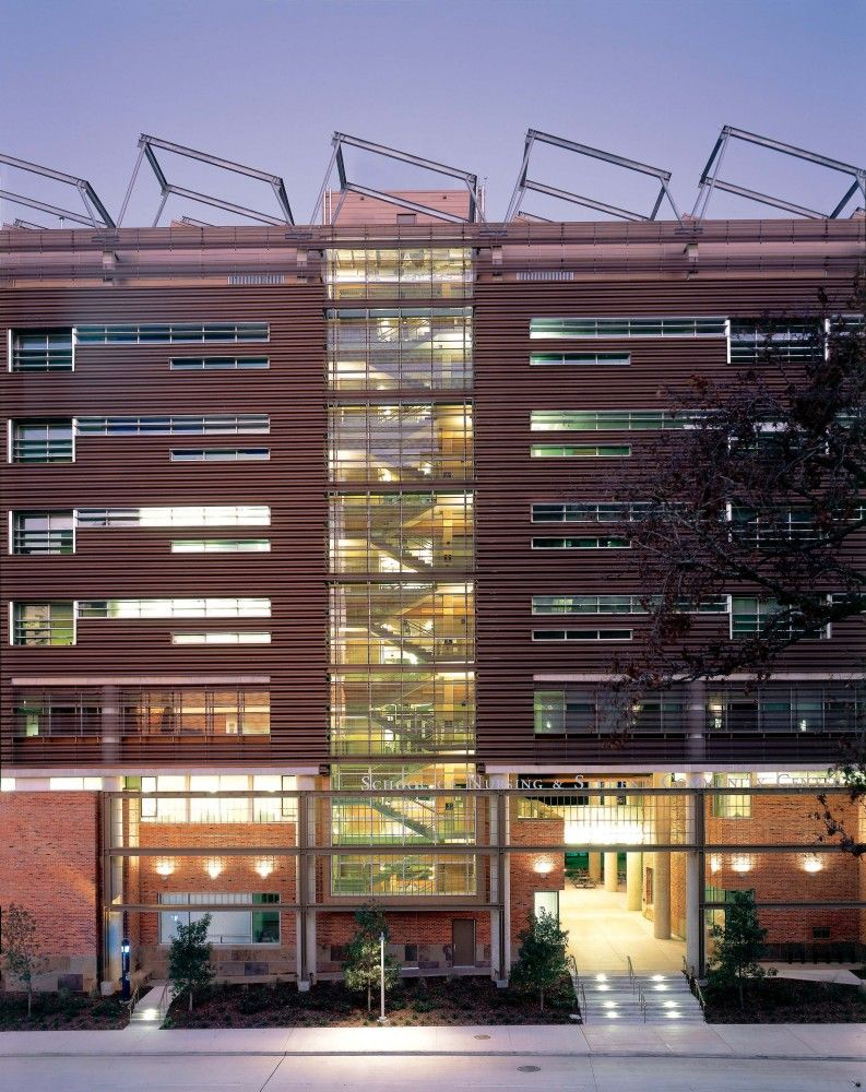 School of Nursing and Student Community Center at the