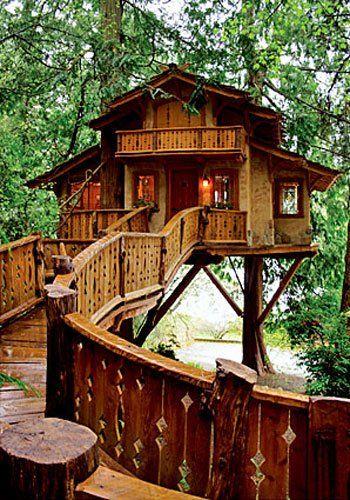 Cool Treehouse Treehouses Beautiful Tree Houses Cool Tree