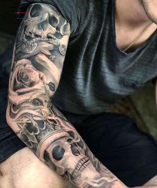 125 Best Sleeve Tattoos For Men - Best Tattoos - #armsleevetattoos - Cool Full Arm Sleeve Tattoo Ideas For Guys - Best Sleeve Tattoos For Men: Cool Full Sleeve Tattoo Ideas and Designs #tattoos #tattoosforguys #tattoosformen #tattooideas #tattoodesigns #sleeve #fullsleeve #armtattoo...
