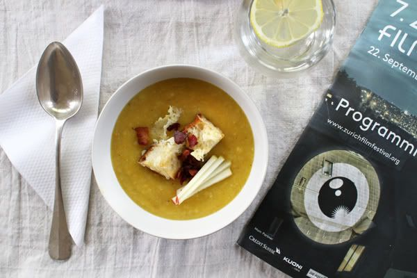 house to haus: autumn soup (with bacon and cheddar!)