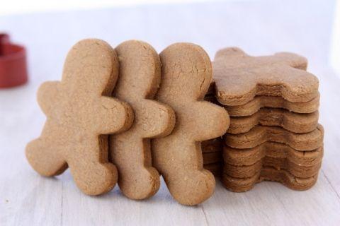Gingerbread Cookies That Won't Spread Recipe #gingerbreadcookies