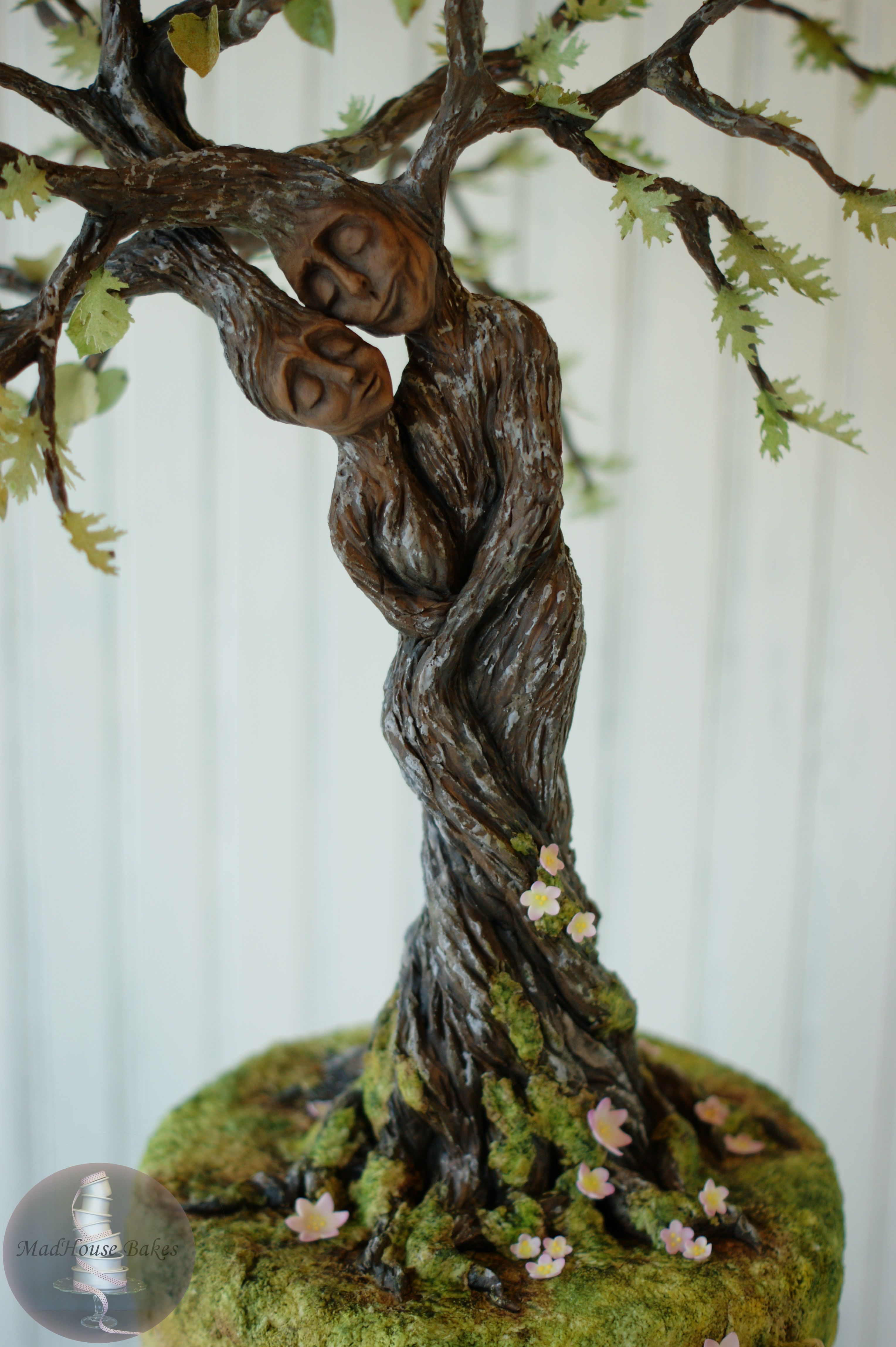 My Tree Lovers for Greece cake created for Love Around the World collaboration, by MadHouse Bakes.