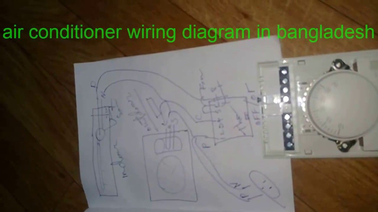 air conditioning circuit diagram bangladeshi maintenance work in rh pinterest com bangladesh circuit diagram