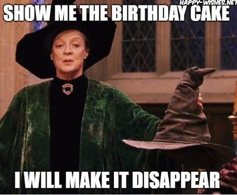 meme Funny potter birthday happy harry