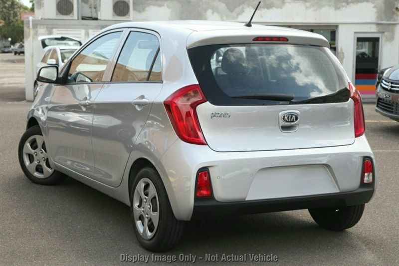 2016 Kia Picanto Si Hatchback Bright Silver New Car Large