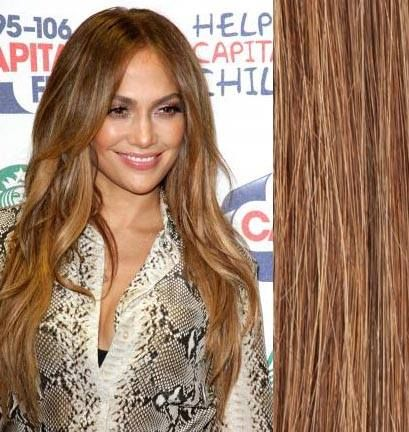 Get the Look: J-Lo's #caramelhighlights!   Are you a brunette who wants to go a little lighter for the summer? Try #JenniferLopez's gorgeous shade in our Foxy M4/27 Strawberry blonde into chocolate brown #clipinextensions to create a gorgeous caramel colour! Get yours now! http://goo.gl/aRPtIh  #hairthatrox #foxyhairextensions #foxyhair #hairextensions