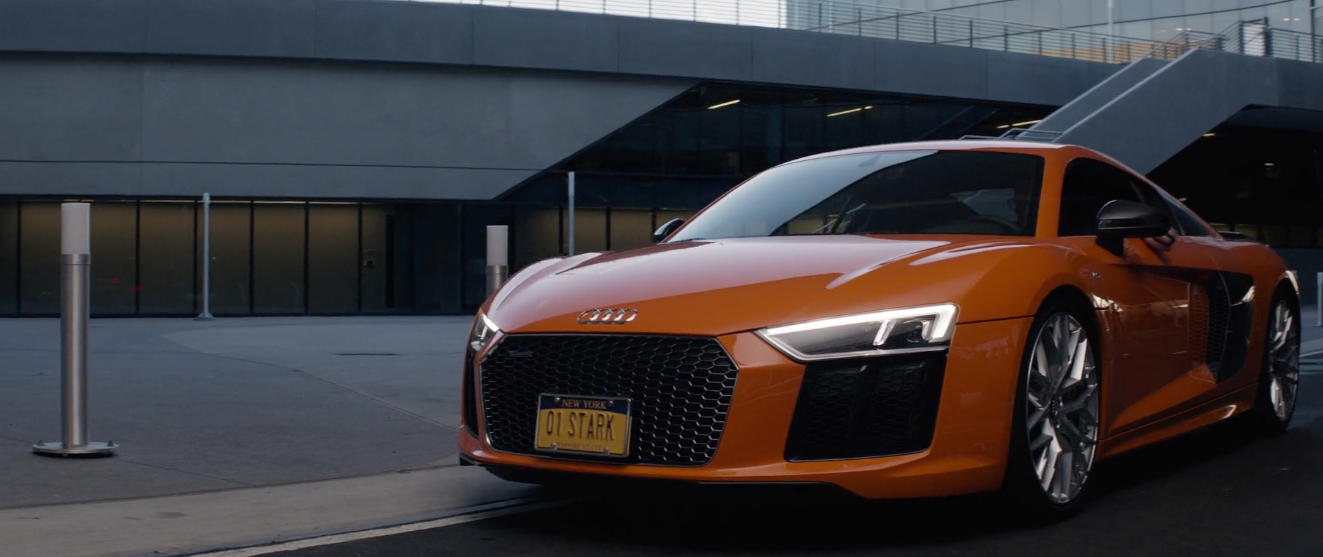 Audi R8 2015 In Captain America Civil War 2016