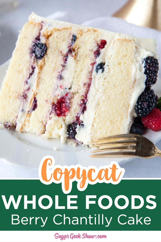 Berry Chantilly Cake With Mascarpone Frosting | Sugar Geek Show