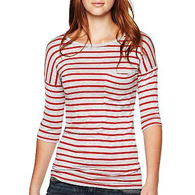 Arizona Slouch Pocket Tee - jcpenney. yep. i got this in blue today