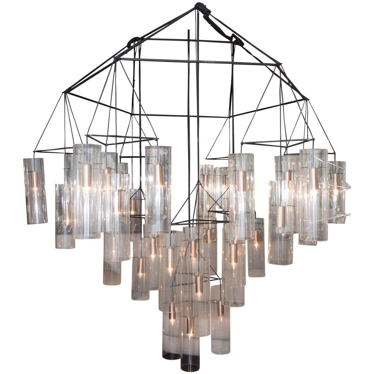 Huge custom style aartreme chandelier pendant lighting