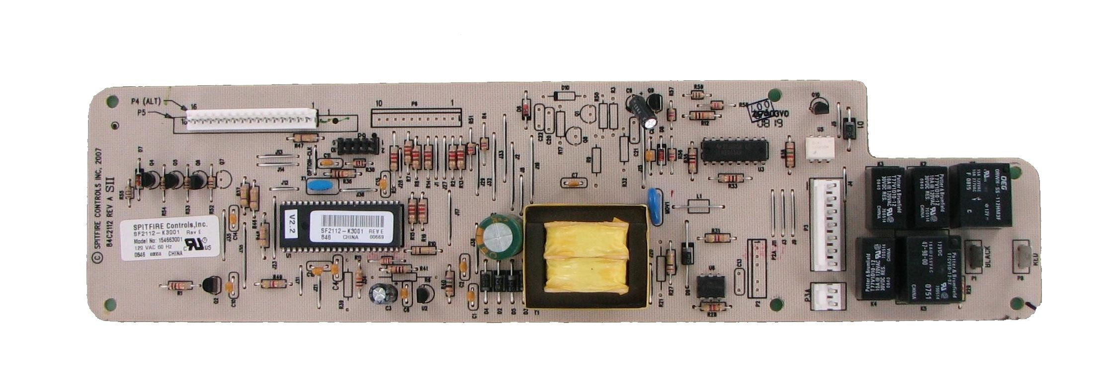 Frigidaire Electrolux 154663001 Dishwasher Control Board Broken Appliance Frigidaire Boards