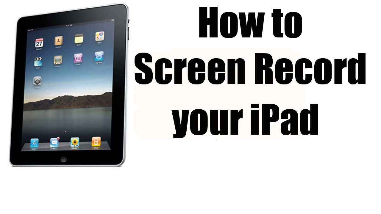 How to record your ipadiphones screen with ios 8