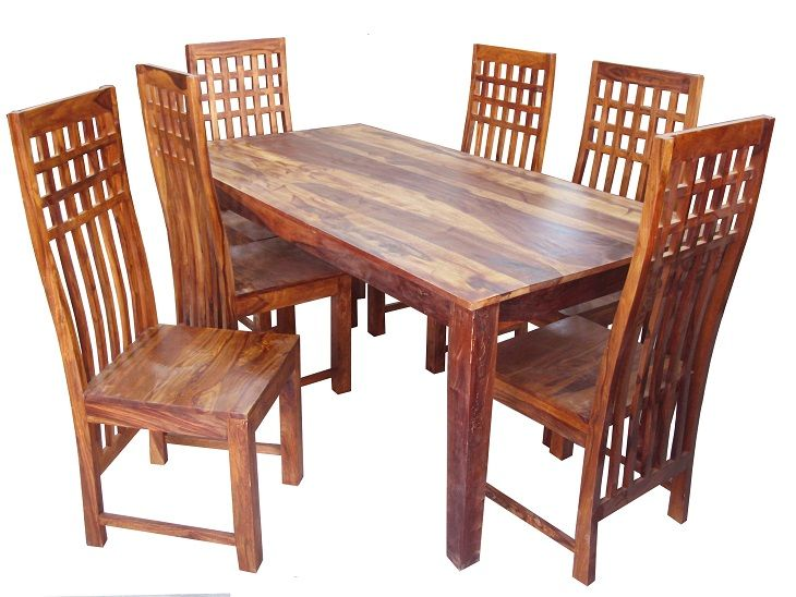 For Sale Sheesham Wood Dining Table With 6 Chair More Information Please Visit
