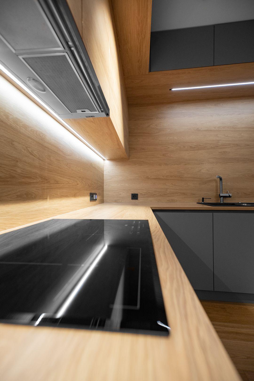 Ciepla I Funkcjonalna Przestrzen Kuchenna Modern Kitchen Design Interior Decorating Kitchen Kitchen Modular