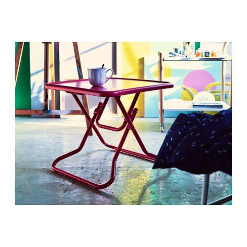IKEA PS 2017 Coffee table foldingred Length 21 58 Width 21