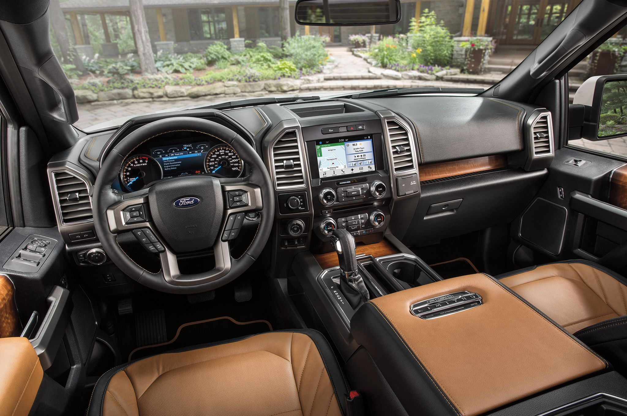 2016 Ford F 150 Limited Elevates Lux Truck Class With Massaging Seats Best Pickup Truck Ford Ford Raptor
