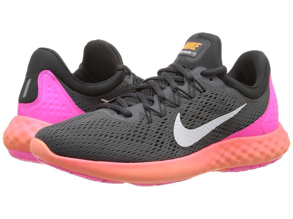 73f78769fb5 Nike Lunar Skyelux Women s Shoes Dark Grey Anthracite Pink Blast White