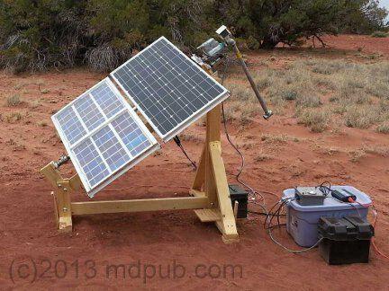 How I Built A Sun Tracker For My Solar Panels Solar Panels Solar Tracker Diy Solar