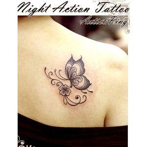 Small Semicolon Tattoo Google Search Butterfly Tattoos Tattoos